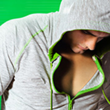 Sports Hood Blue - Leisurewear range on aussieBum online store