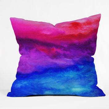 Jacqueline Maldonado Here Now Throw Pillow