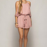 Make Me Blush Romper