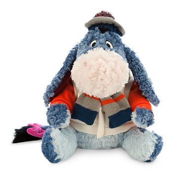 Eeyore Plush - Holiday Special Edition - Medium - 12''