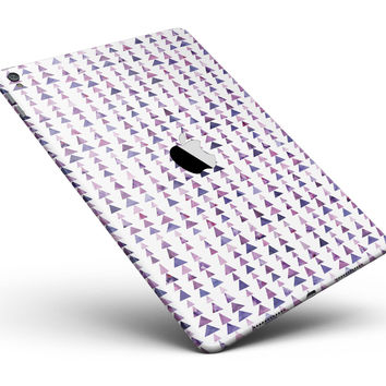 "Purple Watercolor Triangle Pattern V2 Full Body Skin for the iPad Pro (12.9"" or 9.7"" available)"