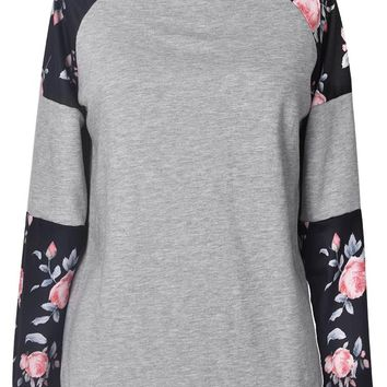 Cupshe Frosty Silence Print Top