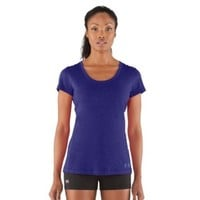Women's Charged Cotton® Sassy Slub T-Shirt Tops by Under Armour Extra Small Monarchy - $29.99 - RIAmart