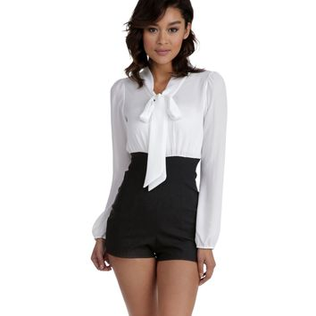 Ivory Fifty Fifty Romper