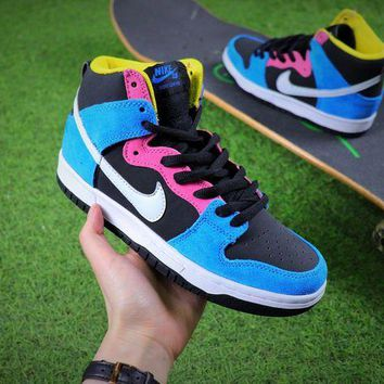 DCCKU62 Nike SB Dunk Multicolor Skateboard Shoes