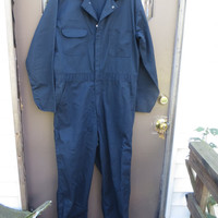 Vintage  navy BLUE  Mens jumpsuit    Coveralls by big Ben   Jumpsuit  Sz..44  USA made