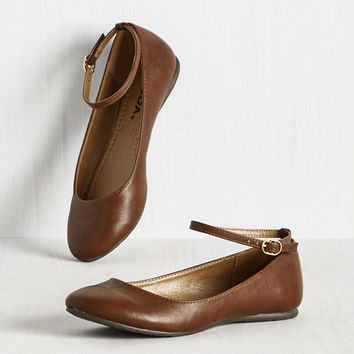 Tour and Simple Flat | Mod Retro Vintage Flats | ModCloth.com