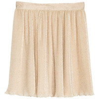 H&M Pleated Chiffon Skirt $29.99