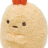 "San-x Sumikko Gurashi Plush 6"" Fried Tail of Shrimp (MR38001)"