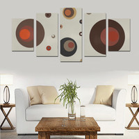 Circles Canvas Print Sets D (No Frame) | ID: D1954553