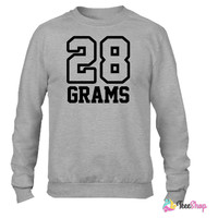 28 Grams0 Crewneck sweatshirtt