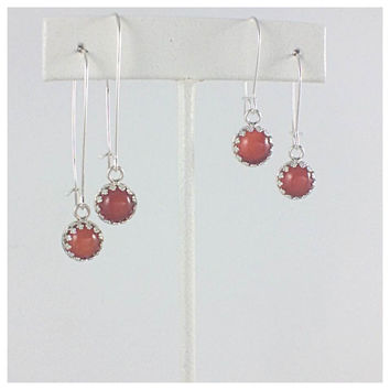 Majestic Drop Semi-Precious Stone Earrings