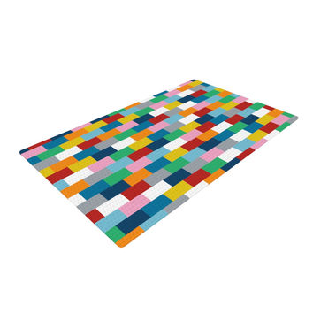 "Project M ""Bricks"" Woven Area Rug"