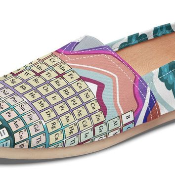 Periodic Table Agate Casual Shoes