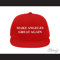 Make Angeles Great Again Red Baseball Hat