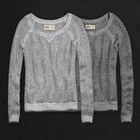 SIZE SMALL SPARKLY HOLLISTER SWEATER SOLD OUT EVERY WHERE