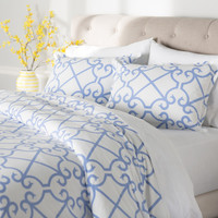 3-Piece Holloway 100% Cotton Comforter Set