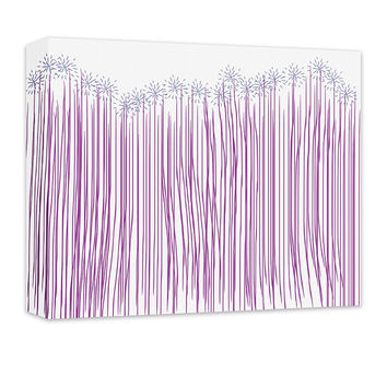Whimsical Forest Canvas Wall Art