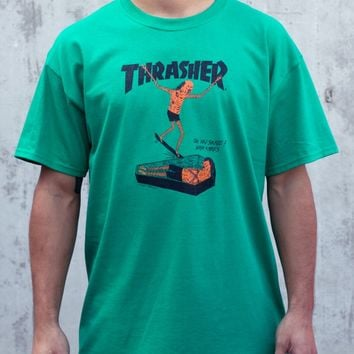 Thrasher Magazine Shop - Neck Face T-Shirt By Neck Face