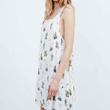 Somedays Lovin' How Sweet Cactus Dress in White - Urban Outfitters