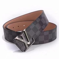 Louis Vuitton Ceinture LV Monogram Leather Belt-2