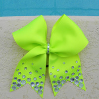 Lime Green Glamour Bow