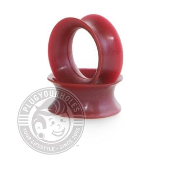 Maroon Pearl Silicone Ear Skins