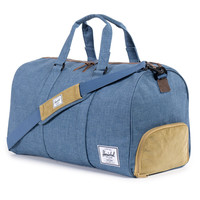 Herschel Supply Co.: Novel Duffle Bag - Navy / Straw Crosshatch (Ranch)
