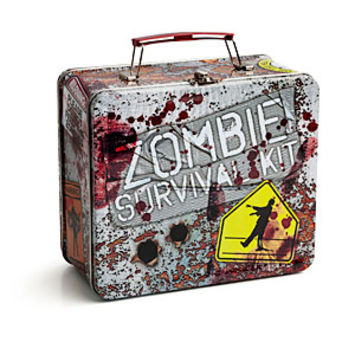 Zombie Survival Kit Lunch Box From Thinkgeek Zombies