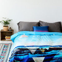 Leah Flores For DENY Let's Sail Away Duvet Cover - Urban Outfitters