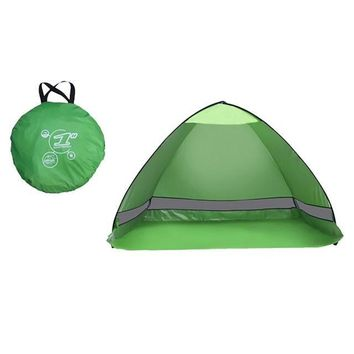Sun Shade Outdoor Camping Tent Hiking Beach Summer Tent UV Protection Fully automatic Portable Pop Up Beach Tent