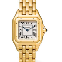 Cartier - Panthère de Cartier small 18-karat gold watch