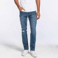 Levi's 511 Mens Slim Jeans Damaged Stone  In Sizes
