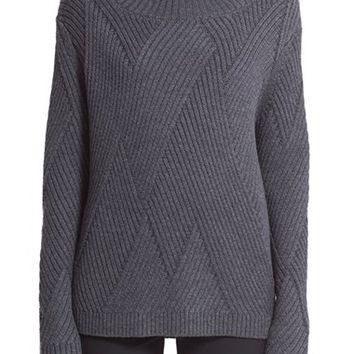 Women's rag & bone 'Blithe' Merino Wool Turtleneck Sweater,