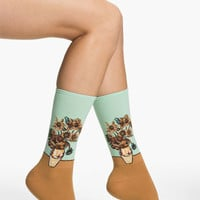 Hot Sox 'Sunflower' Trouser Socks