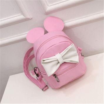 Disney Mickey Minnie Cute Backpack
