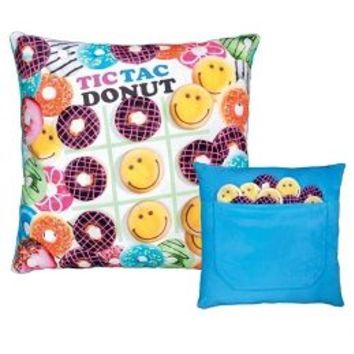 Tic Tac Donut Pillow | Girls Room Decor Girl Stuff | Shop Justice