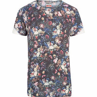 Grey Ones Supply Co. rose print t-shirt - branded t-shirts - t-shirts / vests  - men