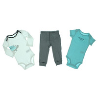 Carters Baby Boys 3 Piece Set Striped Infant Boys Pant Outfit