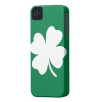 Shamrock  St Patricks Day Ireland iPhone 4 Cases from Zazzle.com