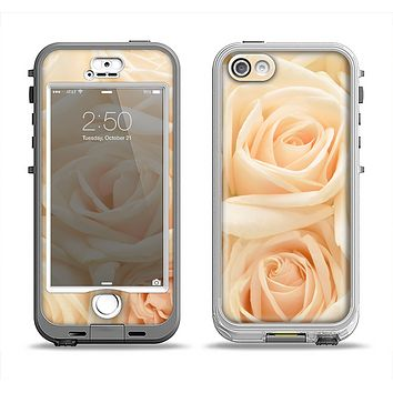 The Subtle Roses Apple iPhone 5-5s LifeProof Nuud Case Skin Set