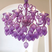 """Retro Glamour"" Chandelier - Horchow"