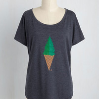 Pining for Ice Cream Tee | Mod Retro Vintage Sweaters | ModCloth.com