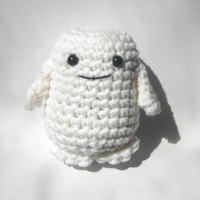 Doctor Who Adipose amigurumi