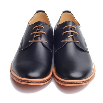 New Leather Casual Men Shoes