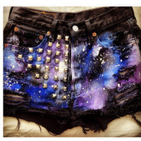 Galaxy Shorts - Custom