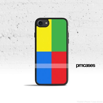 Color Blocks Phone Case Cover for Apple iPhone Samsung Galaxy S & Note
