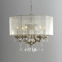 Shaded Cascade Chandelier