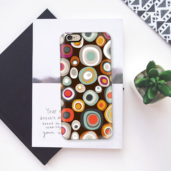 veneto boho spot chocolate iPhone 6s case by Sharon Turner | Casetify