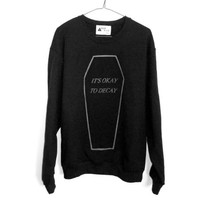 shopwithasianstereotypes: It's Okay to Decay Sweater